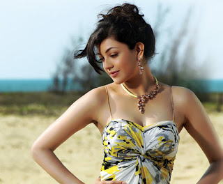 Kajal's Hot Jewelry Ad Pics