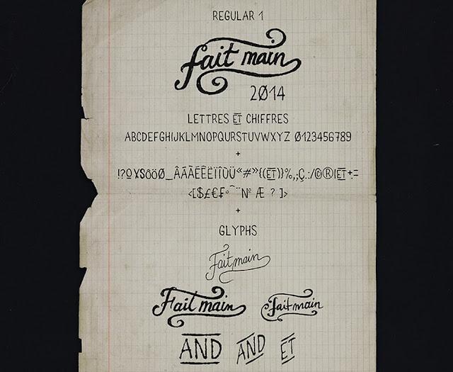 Ressources Web du Lundi #006 by Iscomigoo Webdesign : typographies, Fait Main