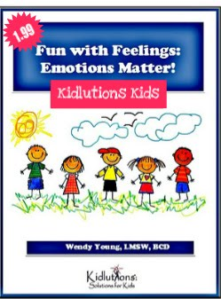 Fun with Feelings Workbook for Kids {Instant Download}