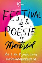 15e Festival de la poésie de Montréal