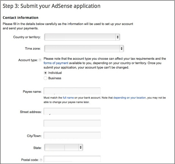 how to delete unapproved adsense account