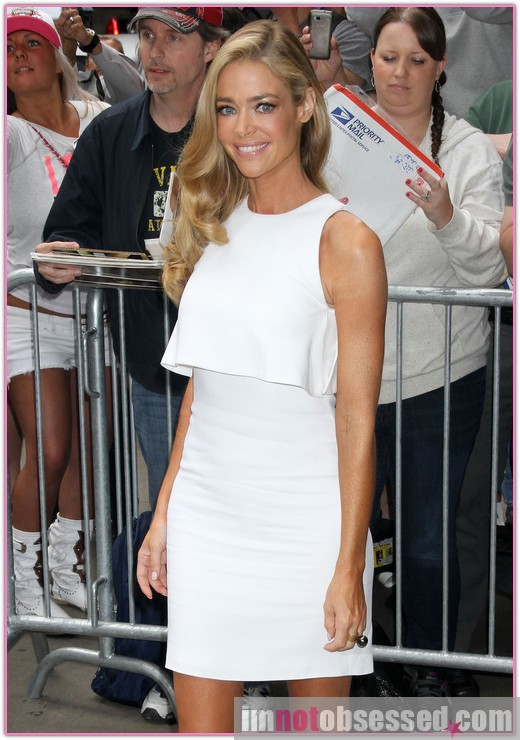Denise Richards Visits 'Good Morning America' » Gossip