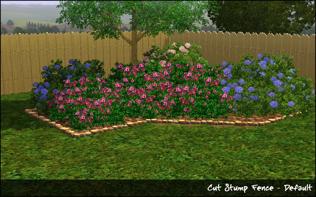 My sims 3 blog natural garden edgers by hugelunatic for Indoor gardening sims 4