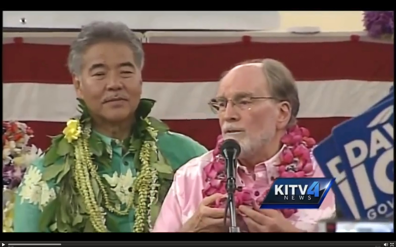 screen shot -- KITV4 news