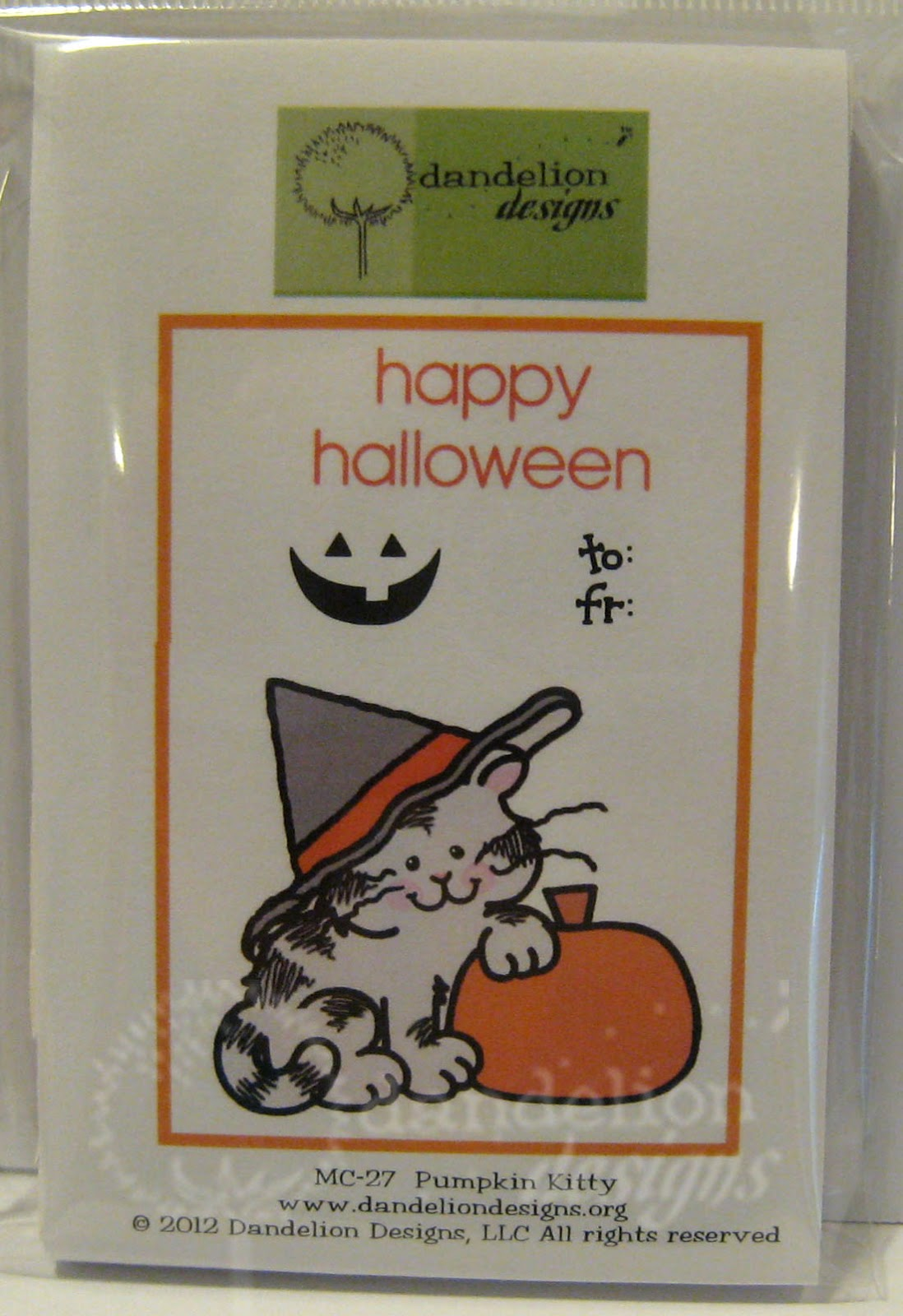 Dandelion Designs Before You Put Your Halloween Stamps