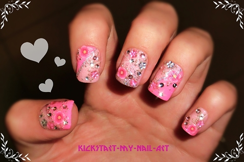 The Glamorous Beautiful creative nail design Digital Photography