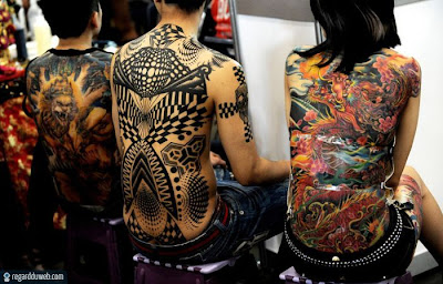 Photos marrantes et extraordinaires Mode - Tatouage v24