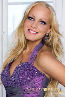 Miss World Denmark 2012 Sandra Rud Gaasedal