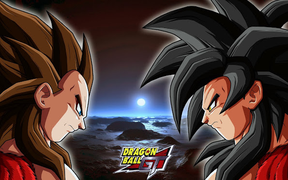Super Saiyan 4 Goku Vegeta 9j