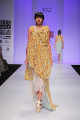 Ela by Joyjit Talukdar at Wills Lifestyle India Fashion Week - Spring Summer 2012 Day 3