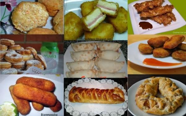 Fiestas infantiles cocinar en casa es - Comidas para un cumpleanos ...