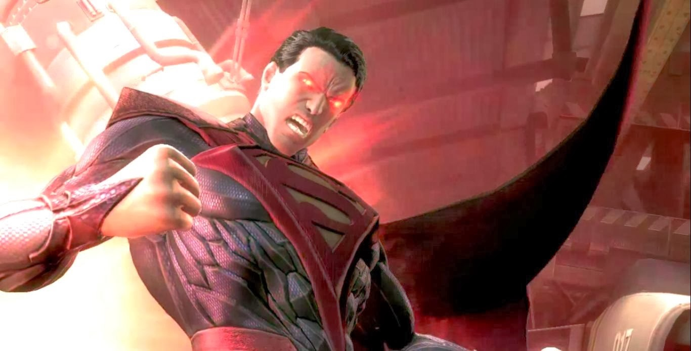 [6ML][Mission JL] L'erreur [Batwoman, Wonder Woman, Jade] Injustice+gods+among+us+evil+superman