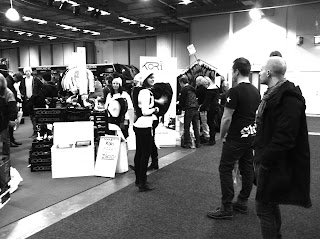 kori back protector showing at the first time at the motorcycle fair in gotherburg 2012