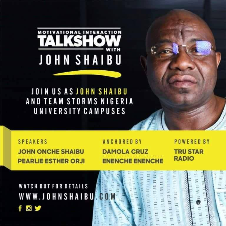 John Shaibu storms Nigerian varsities