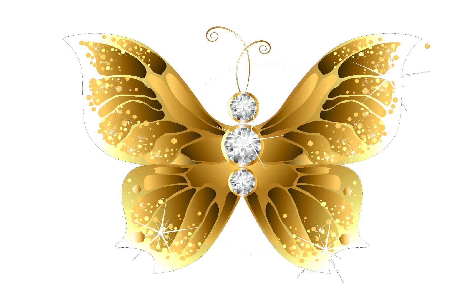 Wing Gold >> PNG Cliparts