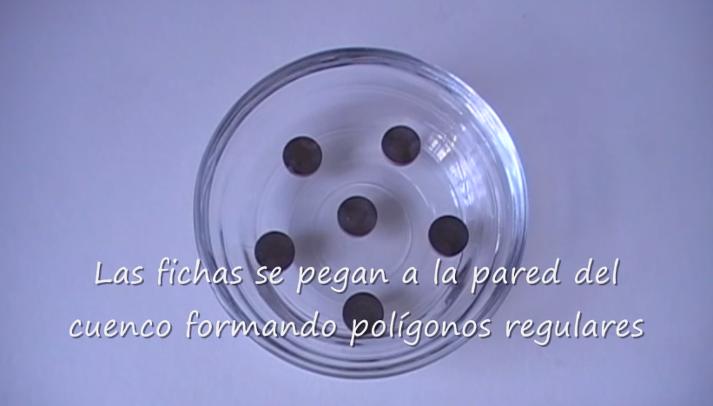 Magnetismo e polígonos regulares