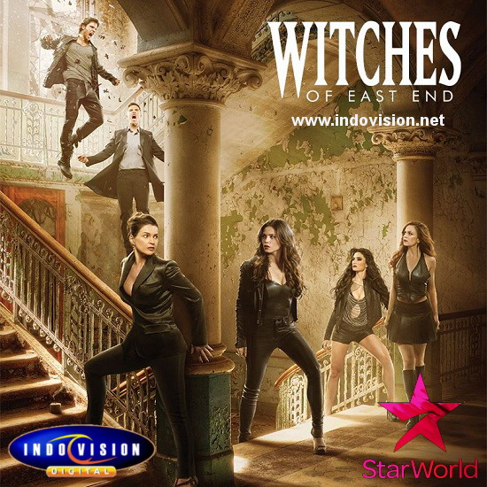 Jadwal tayang seri Witches of East End season 2.
