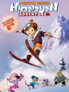 Chhota Bheem Himalayan Adventure (2016) Hindi DVDRip 700MB