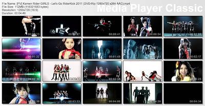 Kamen Rider GIRLS - Let's Go RiderKick 2011 PV