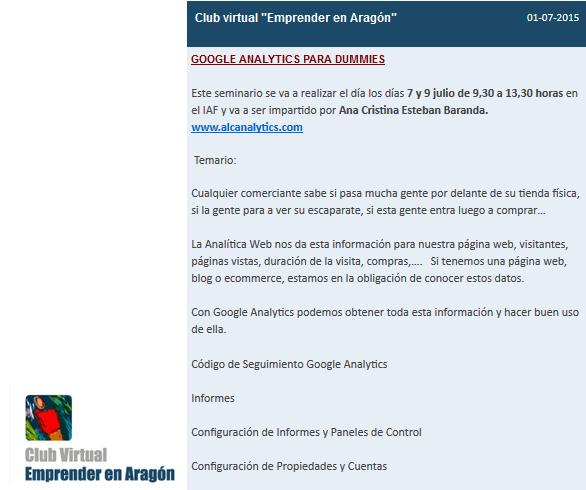 Formación IAF Google Analytics