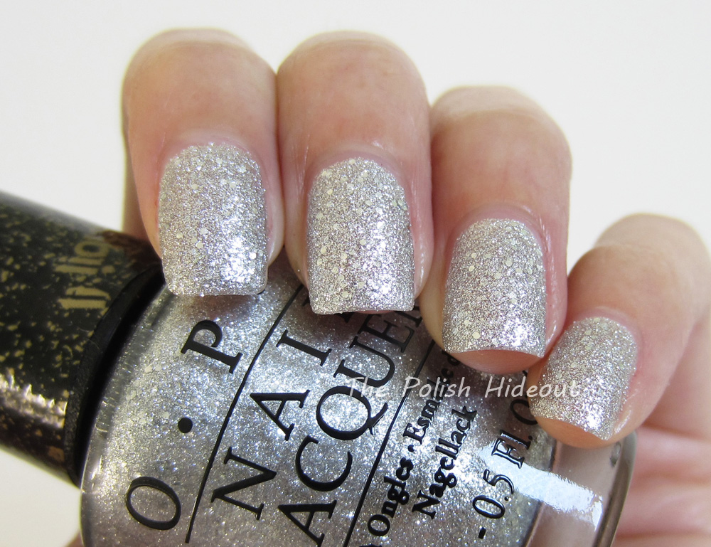 OPI It\'s Frosty Outside (Textured Matte Glitter), Free Shipping at ...