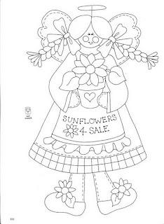 Desenhos Para Pintar Sunfloweer 4 sale