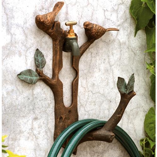 Home Sweet Home Decorative Garden Hose Holder