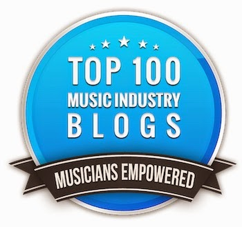Named one of the Top 100 Music Blogs