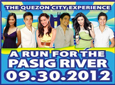 Xian Lim, Kim Chiu, Maja Salvador, Matteo Guidicelli, Piolo Pascual and Maricar Reyes join 9.30.2012 Run, Ride and Roll for the Pasig River