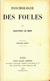 """Facsímil de """"Psychologie des foules"""""""