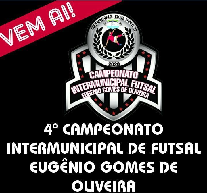 Campeonato Inter-municipal de futsal.