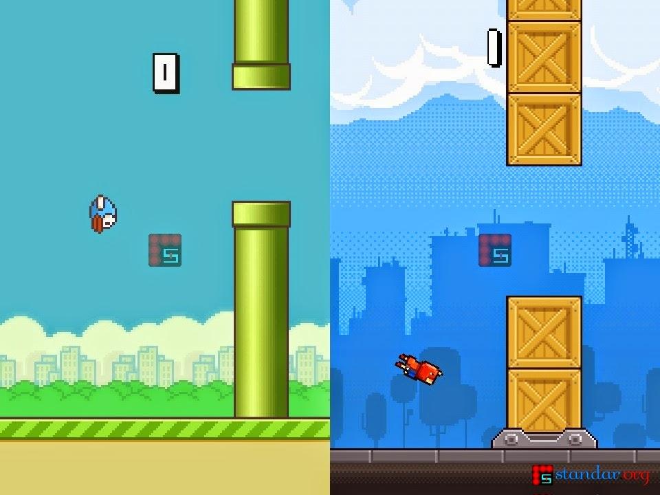 Menjengkelkan Mana, Flappy Bird vs Ironpants..??-1