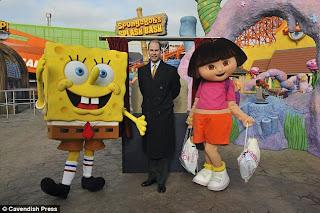 Land uk meets spongebob squarepants and dora the explorer unveils