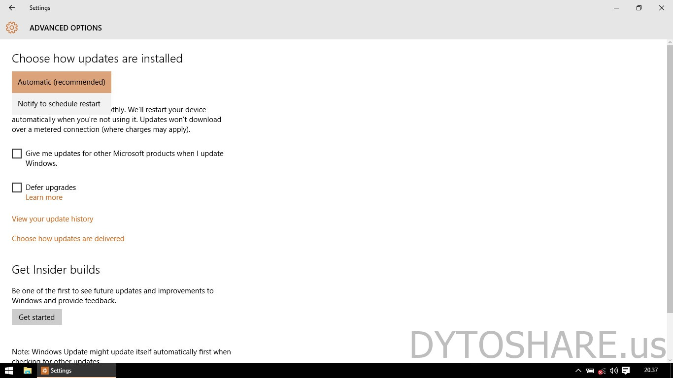 how to stop automatic software updates in windows 8