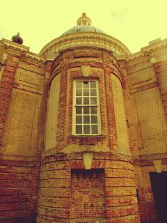 Archer's Pavilion, dome, Wrest Park, English Heritage