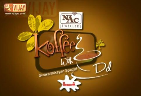 Koffee with DD, 09-09-2013 Vijay Tv, Vinayakar Chathurthi Special SivaKarthikeyan Special,Sathyaraj, Vijay Tv Vinayagar Chaurthi Special Program Show Watch Online