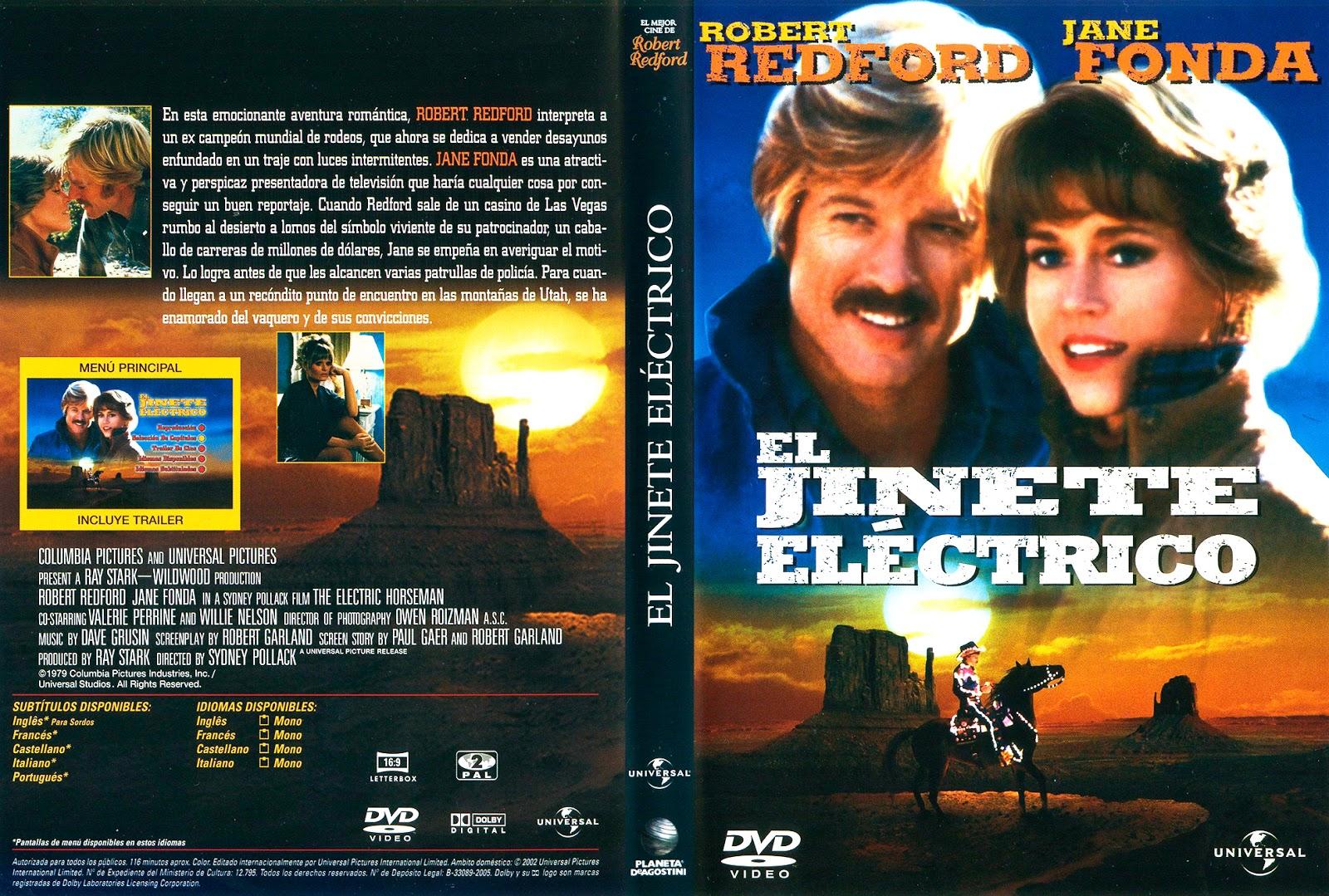 El jinete electrico (1979 - The Electric Horseman) - Caratula