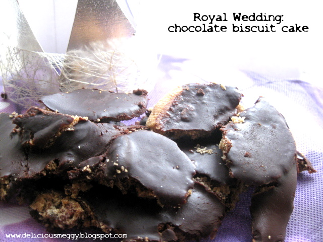 ... cerfoglio ...: ... and for the Royal Wedding: Chocolate Biscuit Cake