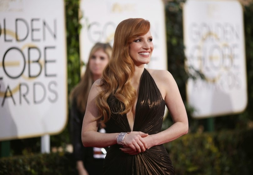 Jessica-Chastain-Golden-globes-2015-red-carpet