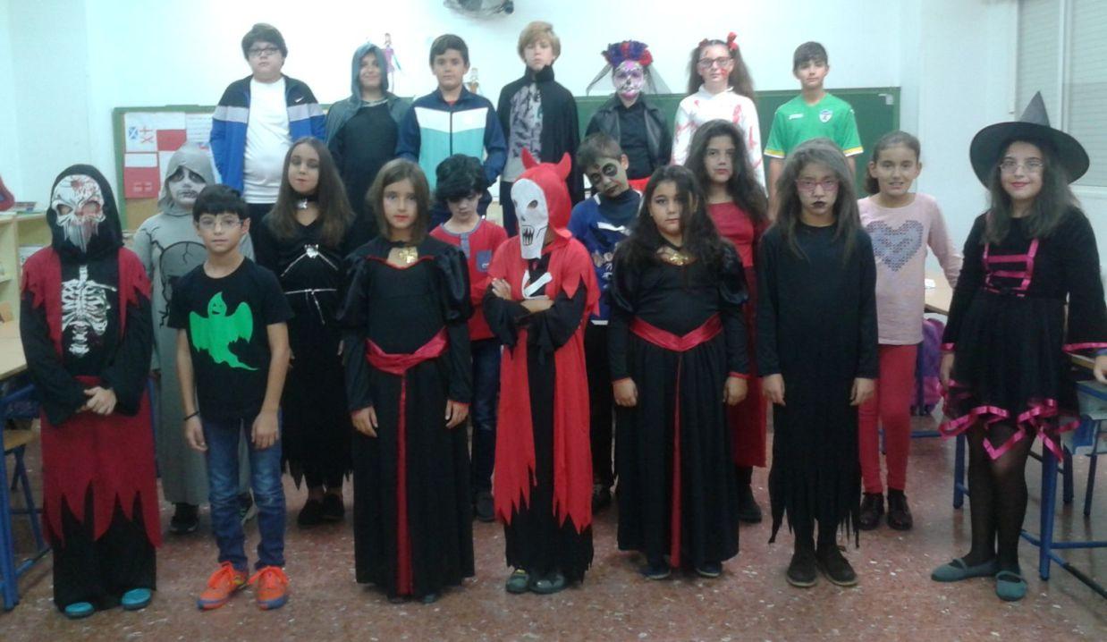 Celebración día de Halloween 2.015