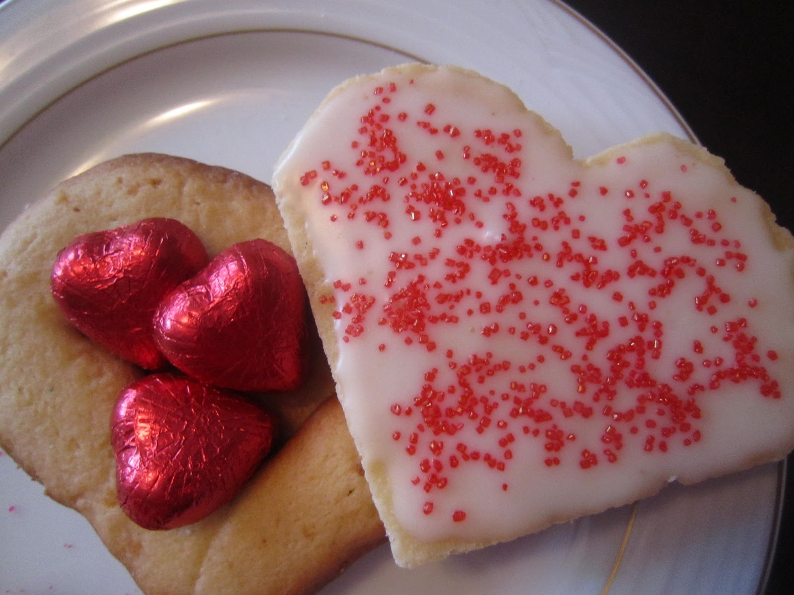 Valentines Day, cookies, hearts, chocolates