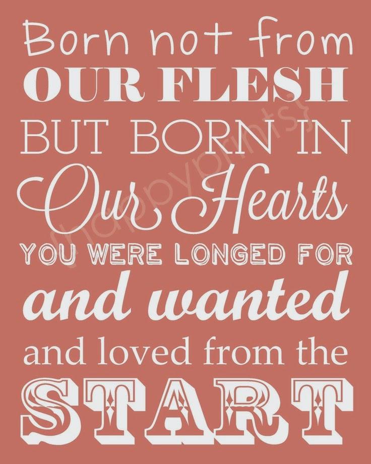 Adoption: A Closer Walk: Adoption Quotes
