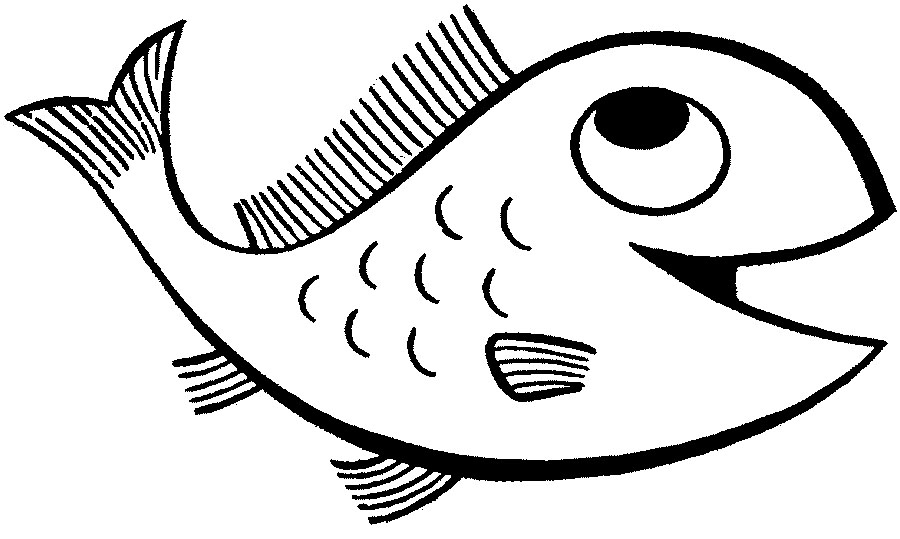 free coloring pages of fish - photo#24
