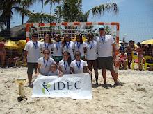 Final do Circuito Brasileiro de Handebol de Areia 2012