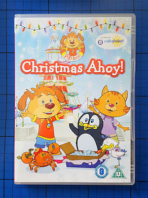 Pip Ahoy's Christmas Ahoy! DVD for children aged 2-6 (review)