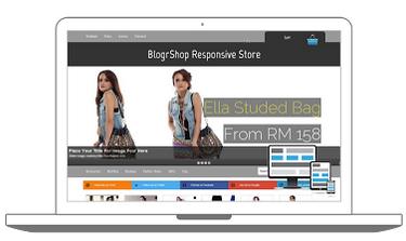 BlogrShop - Online Store Responsive Blogger Template