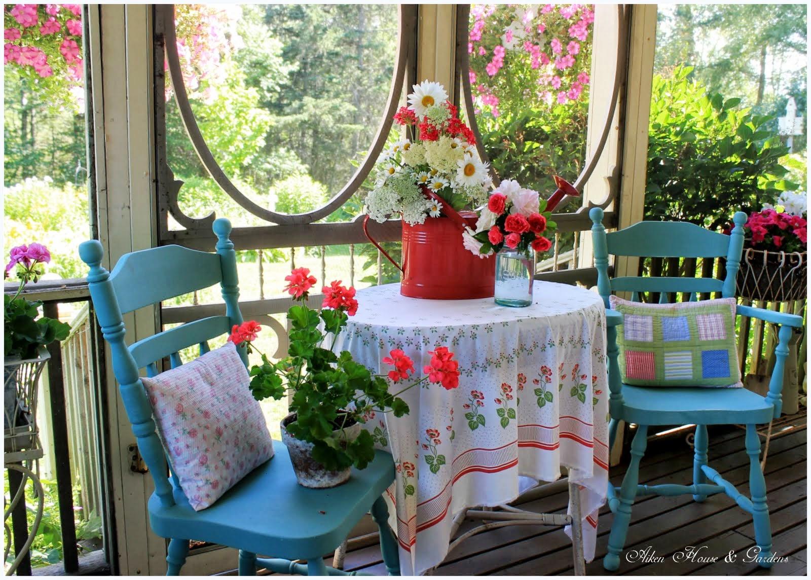 Aiken house gardens a perfect summer day for Aiken house