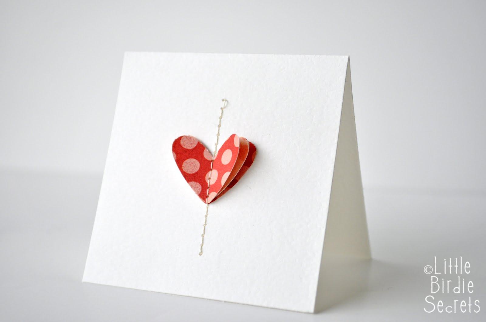 Объемная Валентинка. Открытки своими руками - Детские уроки 83