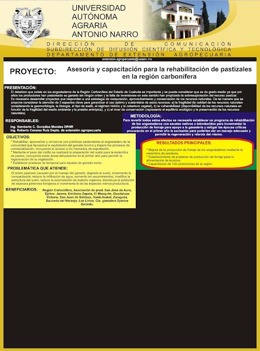 Capacitación y Asistencia Técnica a Productores