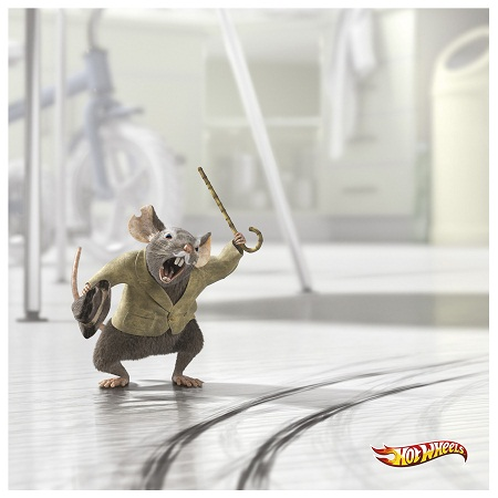Hotwheels amusing and humorous print ads